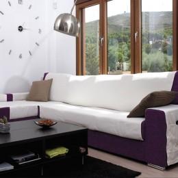 Sofá chaise longue capa Atlas XL